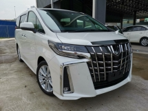 2019 TOYOTA ALPHARD 2.5 S WHITE SUNROOF CHEAPEST DEAL IN TOWN UNREG