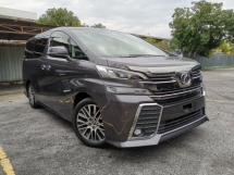 2015 TOYOTA VELLFIRE 2.5 ZG GREY COLOR SPECIAL OFFER UNREG CHEAPEST