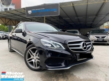 2014 MERCEDES-BENZ E-CLASS E250 AMG FOC WARRANTY IMPORT LUXURY PUCHONG DEALER
