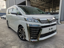 2019 TOYOTA VELLFIRE 2.5 ZG NEW CAR FULL SPEC CHEAPEST DEAL UNREG