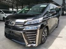2019 TOYOTA VELLFIRE 2.5 ZG Full Spec - New Car Mileage - UNREG