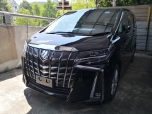 2018 TOYOTA ALPHARD SA 2 YEARS WARRANTY 360 Cam Pre Crash Lane Keeping Assist Power Boot Unreg Japan