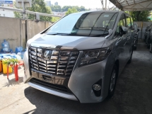 2015 TOYOTA ALPHARD 2.5 X 2 YEARS WARRANTY 8 Seats Dual Power Sliding Doors Power Boot 360 Cam Android Player Unreg