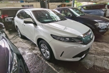 2017 TOYOTA HARRIER 2.0 FACELIFT PRE CRASH POWER BOOTH 4 CAMERA BIG MONITOR 2017 FREE 2 YRS WARRANTY