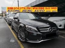 2018 MERCEDES-BENZ C-CLASS C350e 2.0 CKD TRUE YEAR MADE 2018 AMG Mil 31k Only Full Service Mercedes Malaysia Warranty 2022