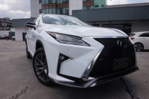 2018 LEXUS RX 300 FSPORTS - WHITE INTERIOR - JP UNREGISTERED