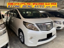 2009 TOYOTA ALPHARD 240 S Registered 2012 7Seater 2Power Doors