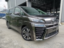 2018 TOYOTA VELLFIRE 2.5 ZG SUNROOF BROWN SPECIAL OFFER UNREG