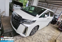 2018 TOYOTA ALPHARD 2.5 SC FACELIFT SUNROOF NAPPA LEATHER FULL SPEC LESS 50 SST NO HIDDEN CHARGE 2018 UNREG
