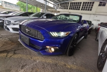 2016 FORD MUSTANG 2.3 ECOBOOST COUPE CONVERTIBLE LIKE NEW CAR 2016 UNREG