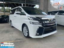 2015 TOYOTA VELLFIRE 2.5 7 SEATER POWER BOOT SURROUND CAMERA UN-REG