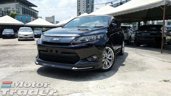 2014 TOYOTA HARRIER PREMIUM ADVANCE