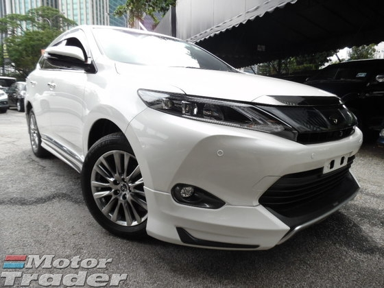 2014 TOYOTA HARRIER FULLY LOADED SPEC