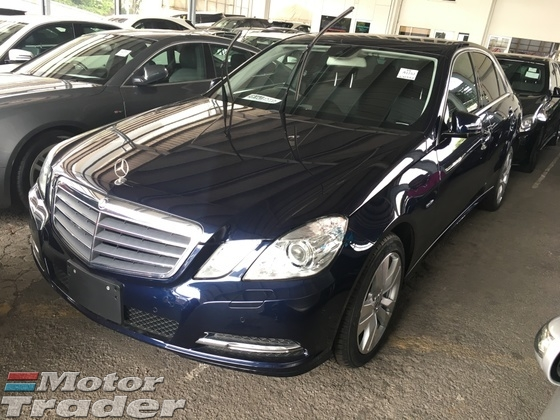 2012 MERCEDES-BENZ E-CLASS E250 CGi 7GTronic BlueEfficiency Turbocharged Push Start Button 2 Memory Seat Reverse Camera