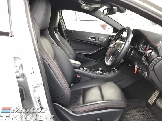 2014 MERCEDES-BENZ A-CLASS A45 2.0 AMG Sport 4MATIC Distronic Plus PreCrash 2 Memory Seat Bluetooth Connectivity Unreg