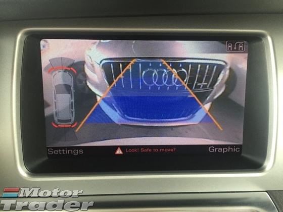 2012 AUDI Q7 3.0 TDi Turbo SLine 245hp 7 Seat