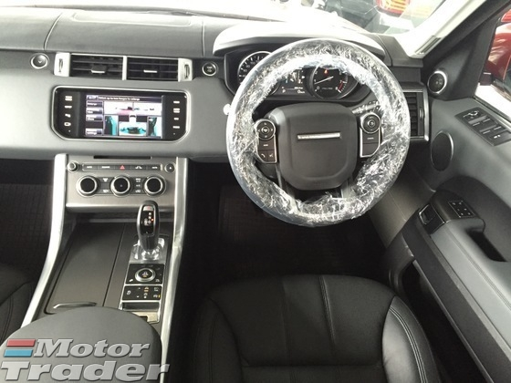 2014 LAND ROVER RANGE ROVER SPORT 3.0 Sport Petrol V6 Supercharged 5 Surround Camera Memory Leather Seats Meridian Sound System Multi Function Paddle Shift Steering Dynamic Terrain Response Control Bi Xenon LED Bluetooth Connectivity 1 Year Warranty Unreg