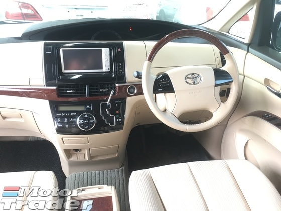 2012 TOYOTA ESTIMA 2.4 G Edition New Facelift 7 Seat Automatic Power Boot 2 Power Door Auto Seat Xenon Climate Control