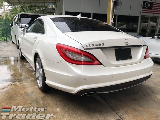 2013 MERCEDES-BENZ CLS-CLASS CLS350 AMG Sport 7GTronic Fully Loaded Lift System PS SR MS RC PB