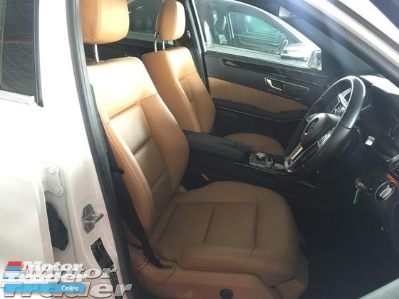 2013 MERCEDES-BENZ E-CLASS E250 CGi AMG Sport 7G Sun Roof Memory Seat PShift