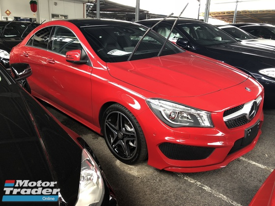 2015 MERCEDES-BENZ CLA CLA250 2.0 AMG Sport 4MATIC Panoramic Roof Harman Kardon Surround 2 Memory Seat Xenon LED
