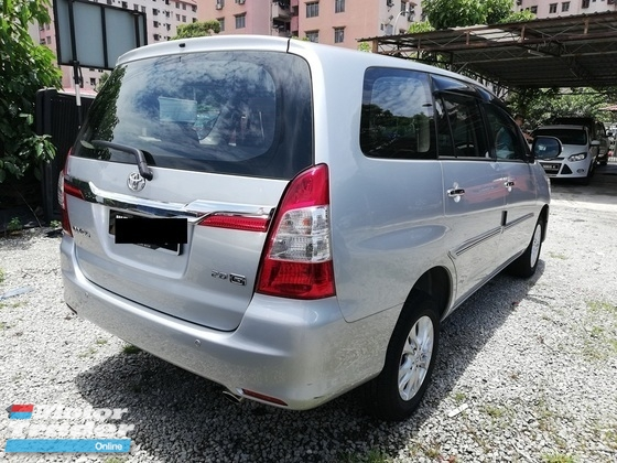2015 TOYOTA INNOVA 2.0 G Facelift New Model Full Service Toyota 34000KM Free Warranty 2 Year From Toyota