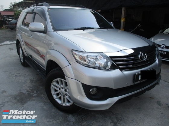 2013 TOYOTA FORTUNER 2.7 Auto TRD Sportivo Facelift Petrol Full Service Nego
