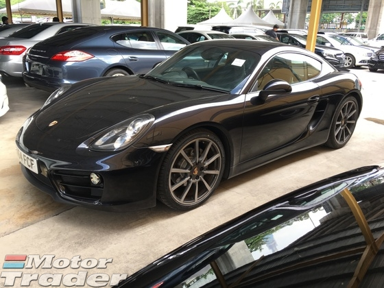 2014 PORSCHE CAYMAN 2.7 Sport Steering 7PDK PCM 272hp LED