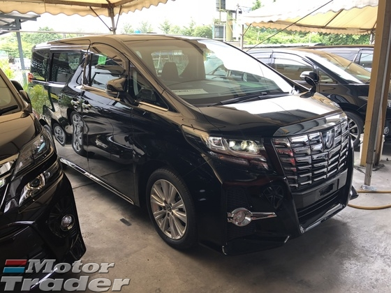 2015 TOYOTA ALPHARD 2.5 SA Edition 4 Surround Camera Sun Roof 7 Seat 2 Power Door Adaptive LED Light 9 Air Bags