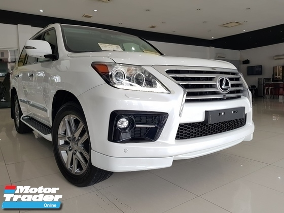 2014 LEXUS LX570 REAR ENTERTAINMENT FULLEST SPEC UNREG