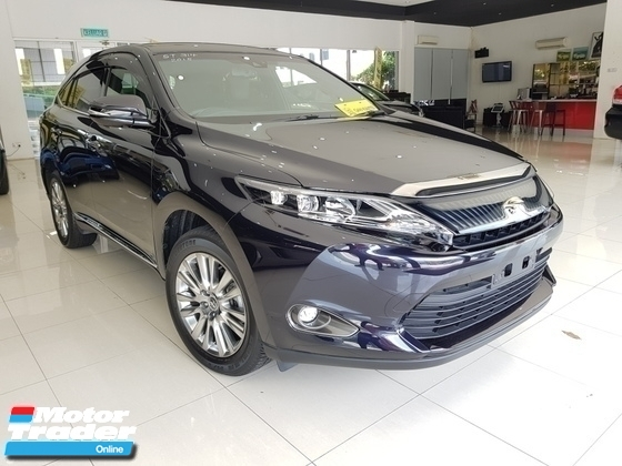2015 TOYOTA HARRIER PREMIUM JPL POWERBOOT UNREG