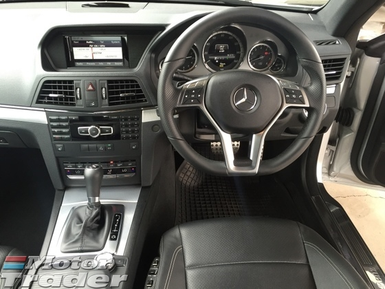 2013 MERCEDES-BENZ E-CLASS E250 AMG Sport 7GTronic CGi Turbocharged Coupe