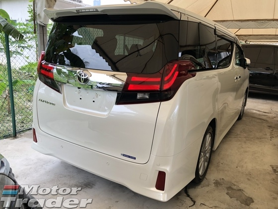 2015 TOYOTA ALPHARD 2.5 SA Sport Edition 4 Surround Camera 7 Seat 2 Power Door Adaptive LED Light 9 Air Bags