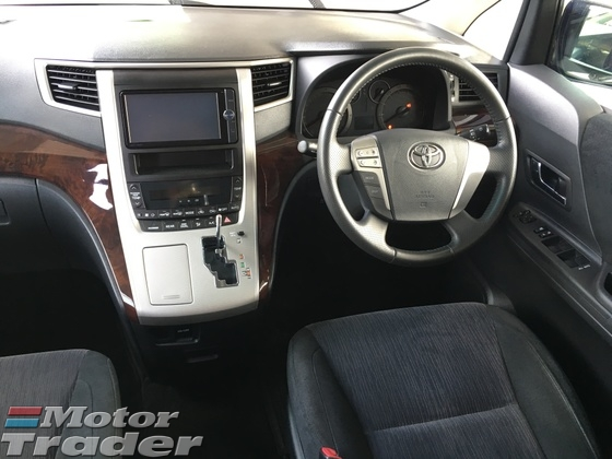 2012 TOYOTA VELLFIRE 2.4 Z Edition Sport 7 Seat 2 Power Door