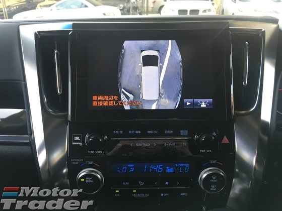 2016 TOYOTA VELLFIRE 2.5 ZG Modelista Fully Loaded Edition 4 Surround Camera JBL Home Theater Surround System Pilot Leather Memory Seat Moon Sun Roof Auto Power Boot Doors Bi LED Light Pre Crash Bluetooth Connectivity