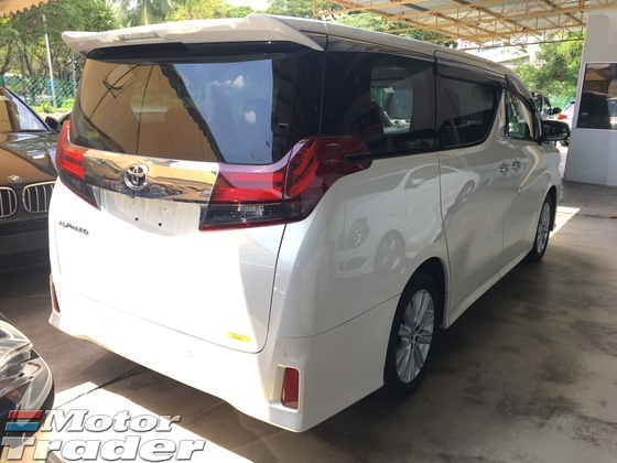 2015 TOYOTA ALPHARD 2.5 SA Sport Edition New Model 7 Speed Super CVTi 4 Surround Camera 2 Power Doors Keyless Smart Entry Push Start Button Bluetooth Connectivity Adaptive Intelligent Bi LED Light 3 Zone Climate Control Auto Cruise Control ECO Drive 9 Air Bag