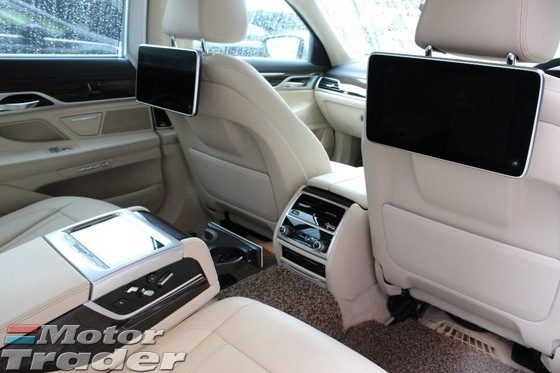 2016 BMW 7 SERIES 730Li 730i 2.0 TwinPower Turbo Fully Loaded Under Warranty BMW Malaysia NOV 2021 Genuine 11K KM