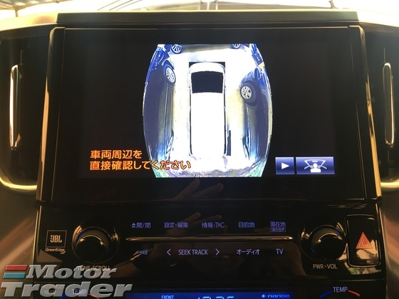 2015 TOYOTA VELLFIRE 2.5 ZG Modelista 4 Camera JBL Theater