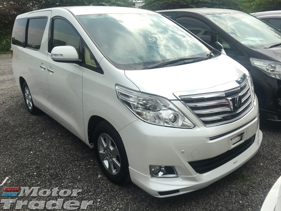 2012 TOYOTA ALPHARD 2.4 VVTi 7SCVT 2 Power Door 9 Air Bags