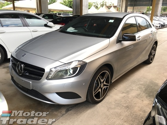2014 MERCEDES-BENZ A-CLASS A180 Turbocharge 7GDCT Distronic Memory Seat