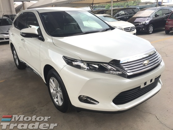 2015 TOYOTA HARRIER 2.0 Valvematic 7Speed CVTS Keyless Smart Entry Push Start Button Adaptive Xenon LED Dual Zone Climate Control Auto Cruise Control 9 Air Bags Reverse Camera 1 Year Warranty Unreg