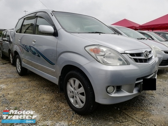 2010 TOYOTA AVANZA 1.5G Auto High Loan