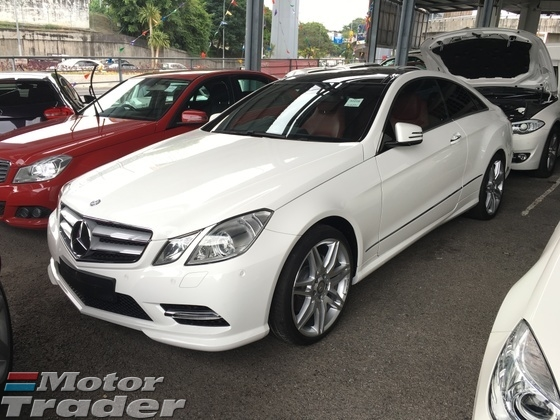 2013 MERCEDES-BENZ E-CLASS E200 CGi AMG Sport 7GTronic BlueEfficiency Panaromic Roof Bucket Seat Multi Function Paddle Shift Steering Xenon LED Bluetooth Connectivity 1 Year Warranty Unreg