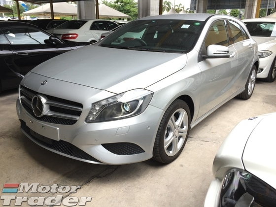 2014 MERCEDES-BENZ A-CLASS A180 CGi Turbocharged BlueEfficiency 7GDCT Daytime Xenon LED Paddle Shift Bucket Seat Multi Function Steering Bluetooth Connectivity Reverse Camera 1 Year Warranty Unreg