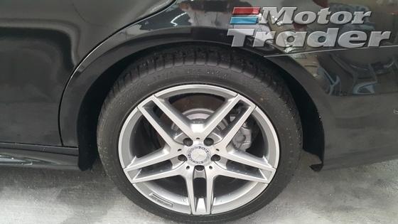 2013 MERCEDES-BENZ E-CLASS UNREG E250 AMG SPORT PACK WT FREE WRTY GST