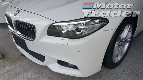 2013 BMW 5 SERIES BMW 520i MSPORT TWIN TURBO NEW FACE NEW STRG SHAPE WT FREE WRTY GST AND INTELLIGENT SAFETY SYSTEM 2013 UNREG