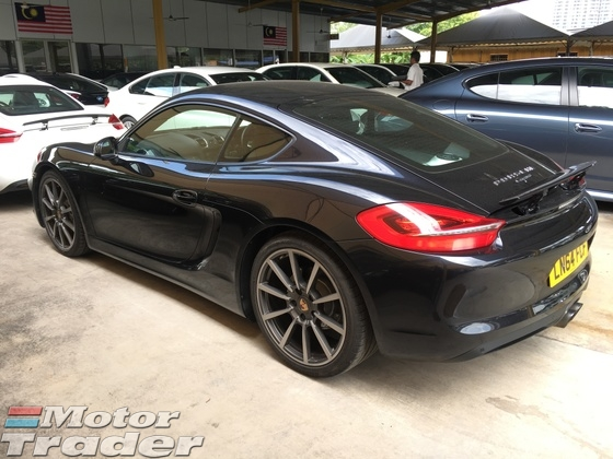 2014 PORSCHE CAYMAN 2.7 Sport Chassis 7PDK PCM 272hp Paddle Shift