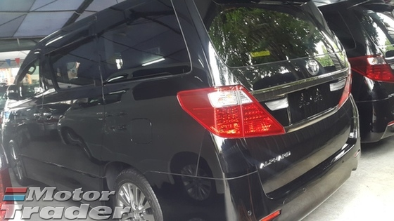 2013 TOYOTA ALPHARD 2.4 TYPE GOLD AUTO CRUISE WT FREE 2YRS WRTY GST INCLUSIVE