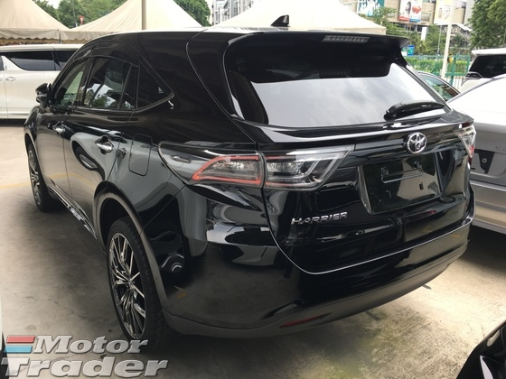 2014 TOYOTA HARRIER 2.0 Valvematic 4 Camera Power Boot Power Seat