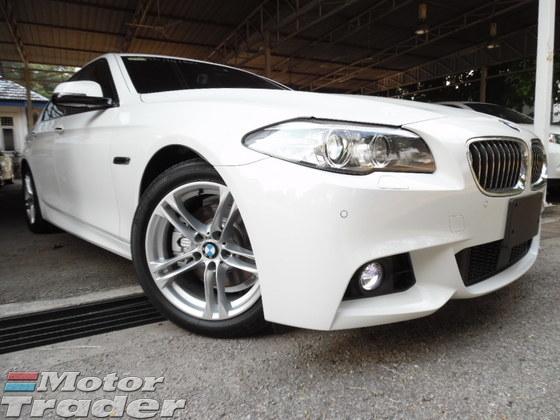 2014 BMW 5 SERIES 528i 2.0 MSPORT (F10) LCI FACELIFT